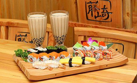 鲜珅寿司加盟出品达到完美