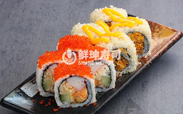 杭州鲜目录寿司店加盟