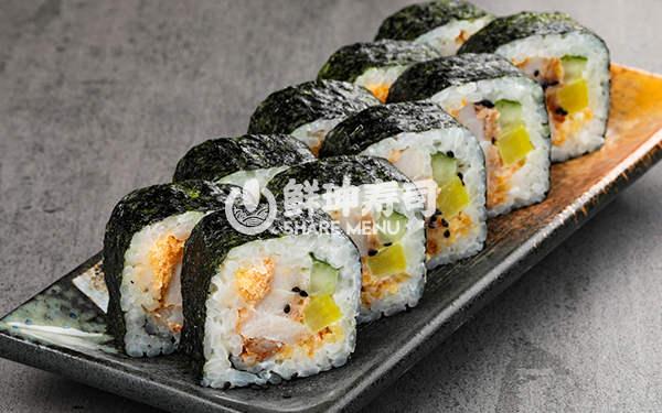 杭州鲜目录寿司加盟店