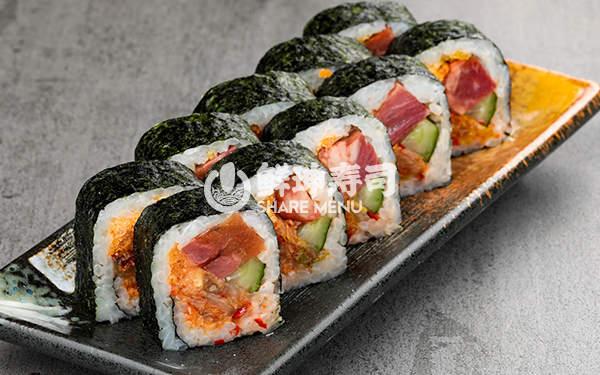 咸阳鲜目录寿司加盟店