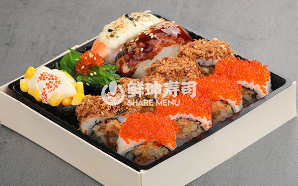 寿司加盟连锁选择鲜目录寿司