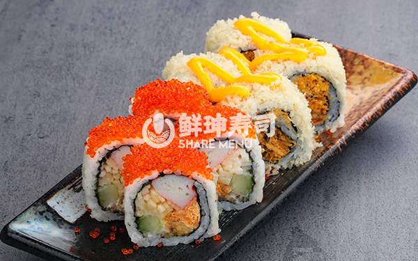 绵阳鲜目录寿司加盟